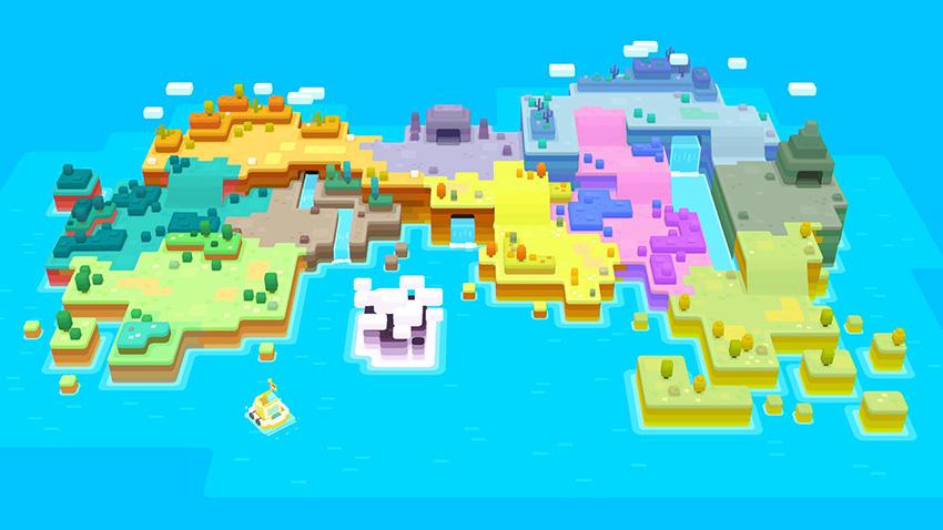 Pokémon Quest - Tumblecube Island